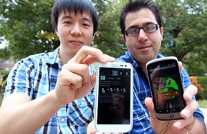 Yoon.irescue.300 Smartphone app can aid post disaster rescue