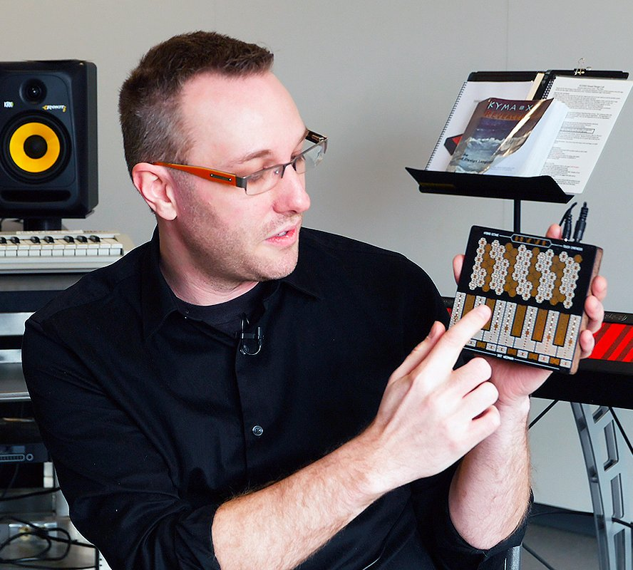 Illinois technician combines engineering and creativity in a DIY synthesizer